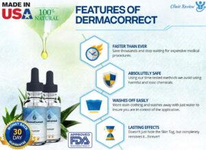 derma correct ingredients
