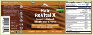 hair revital x side effects