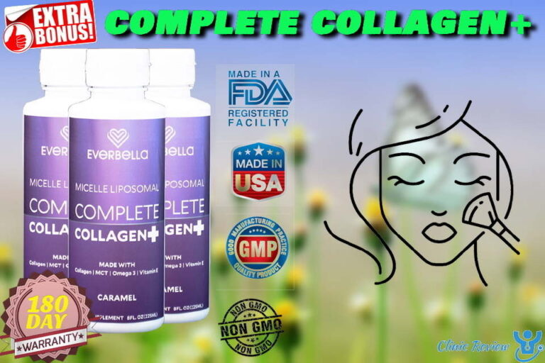 COMPLETE COLLAGEN+ Reviews – A Nutrient-Rich Formula For Youthful Skin?