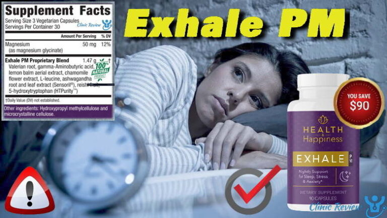 Exhale PM Review – A Breakthrough Sleep Switch Solution?
