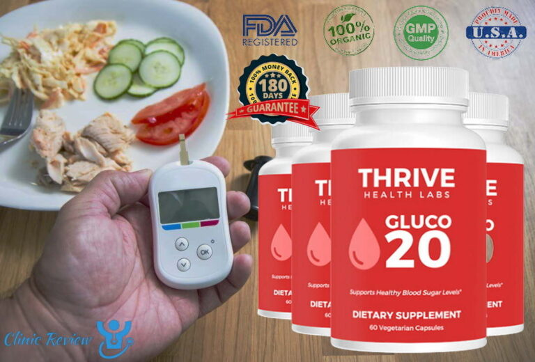 Thrive Health Labs GLUCO 20 SUPPLEMENT REVIEWS – IS IT SAFE?