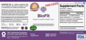 biofit probiotic Supplement