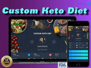 custom keto diet app