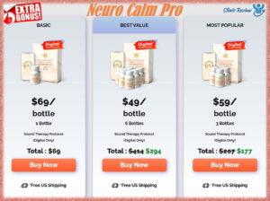 Neuro Calm Pro Prices