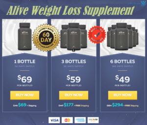 Alive Supplement Prices