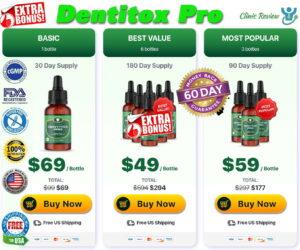 Dentitox Pro Prices