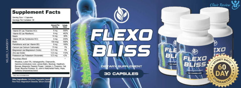 FlexoBliss Healthy Back Reviews – Is It Safe Back Pains?