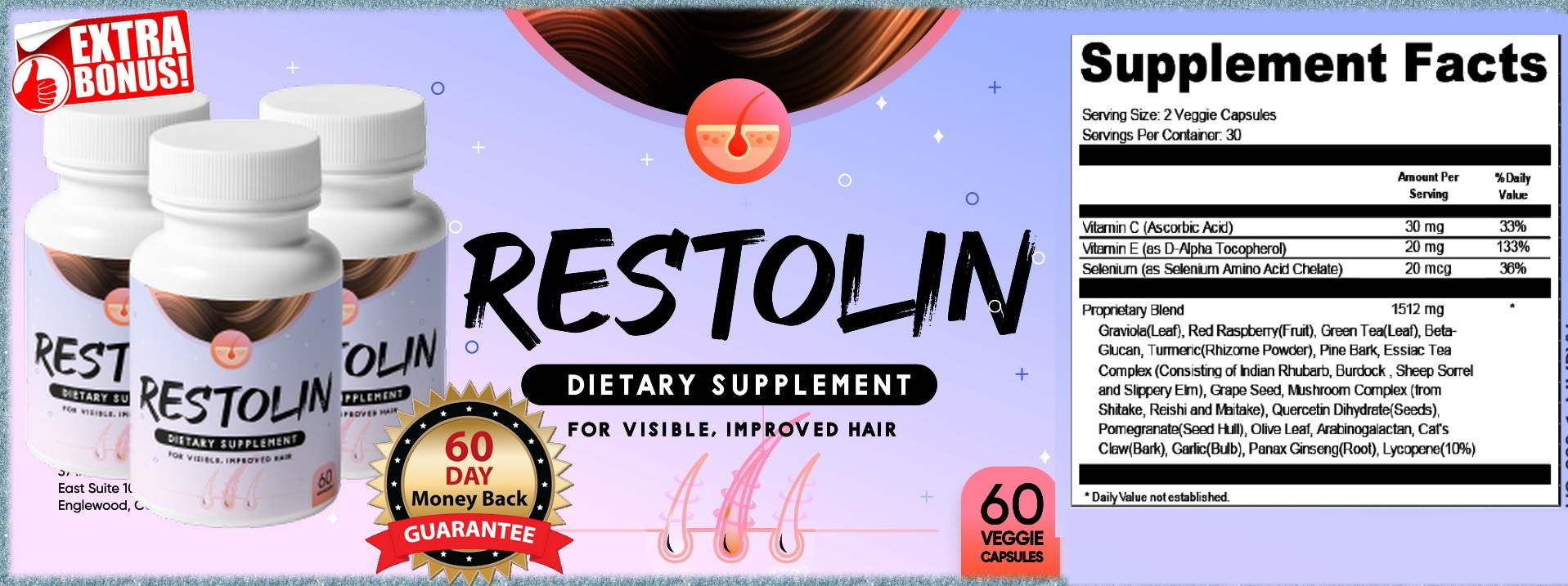 Restolin Healthy Hair Reviews