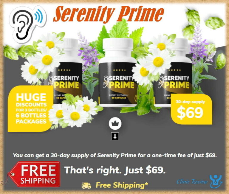 Serenity Prime Reviews – POWERFUL Brain & Hearing Support