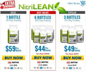 Nitri Lean Prices