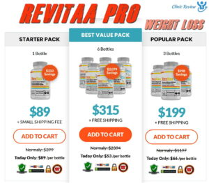 Revitaa Pro Weight Loss Prices
