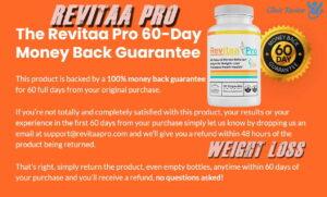 Revitaa Pro guarantee