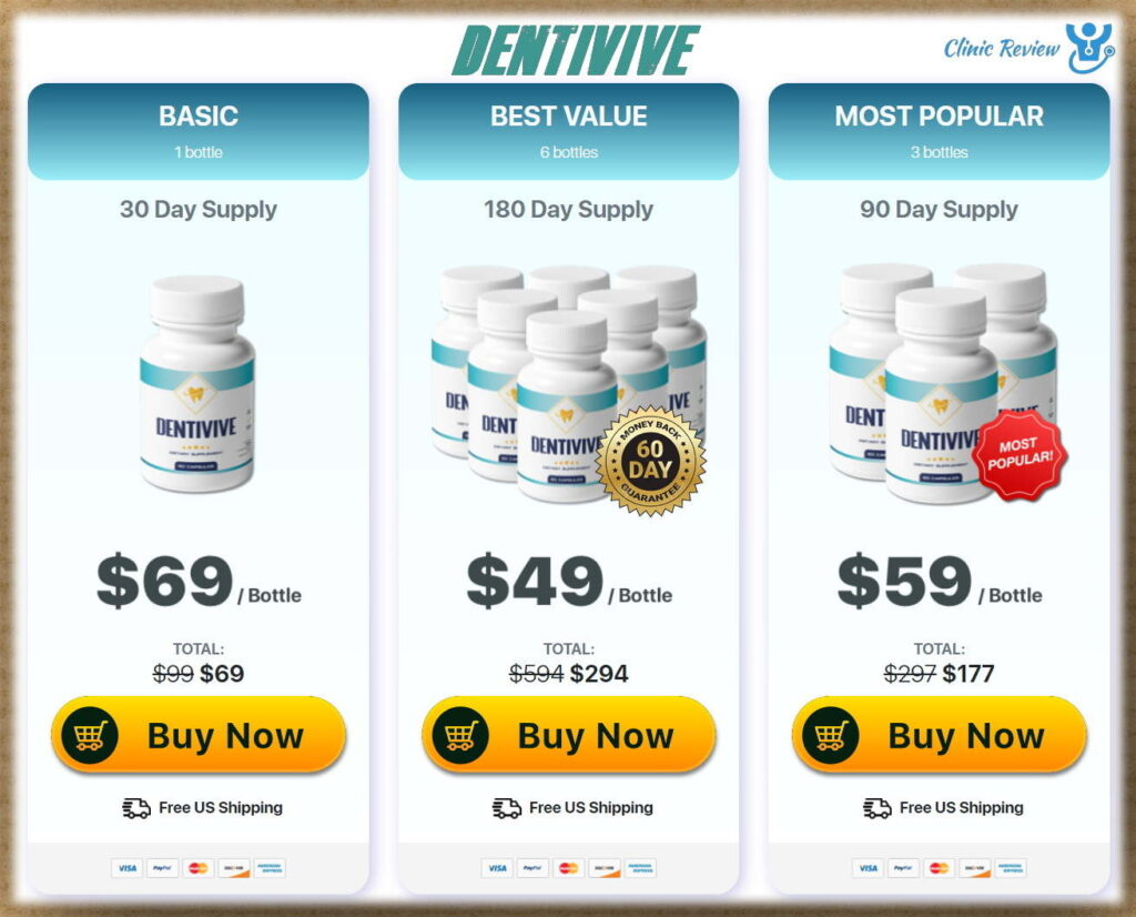 Dental Health Supplement Price