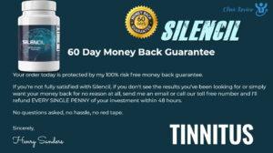 Silencil Tinnitus Supplements guarantee