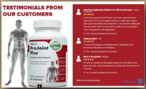 Benefits ProJoint Plus