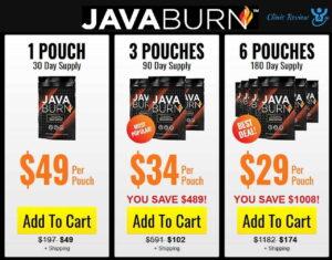Java Burn Prices