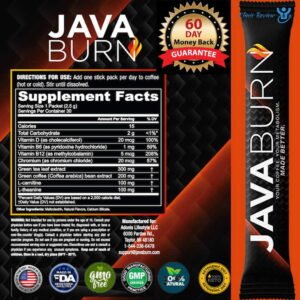 JavaBurn For Weight Loss Ingredients